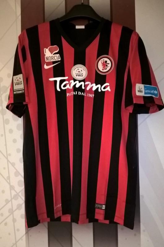 Foggia Maglia Gara Store Calcio Sarno Rossonera AqxB4Zpv